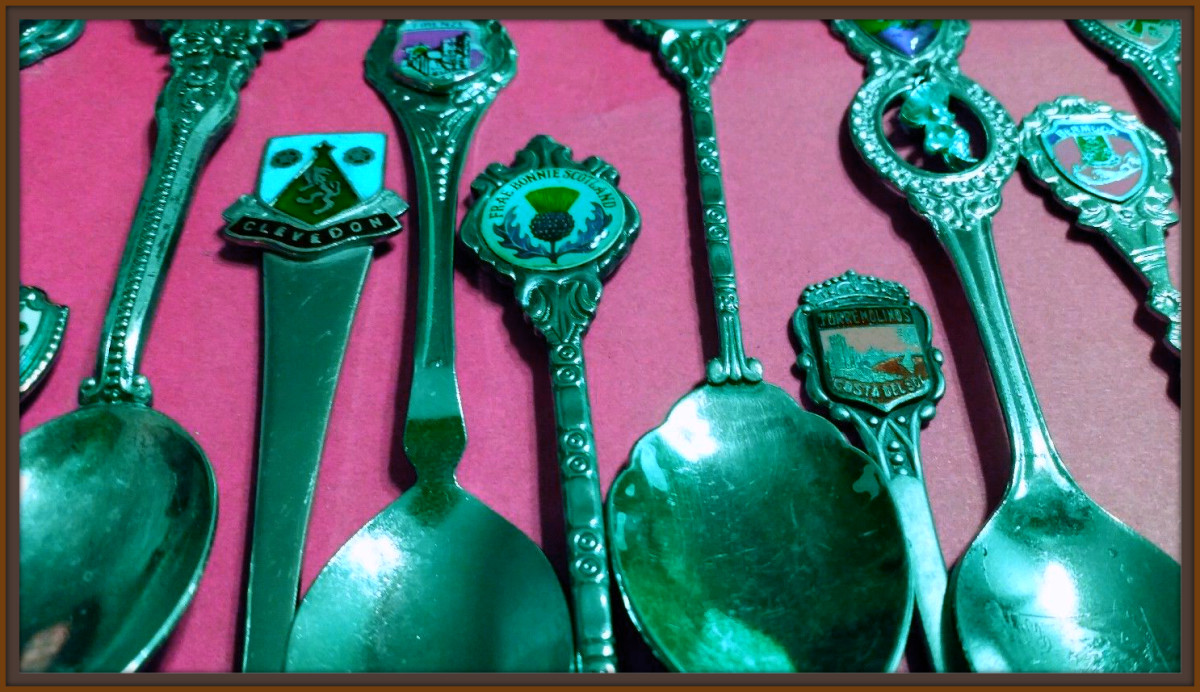 Each of these Souvenir  Collector Spoons is a work of art. Beautifully hand crafted, and showing great pride in the location it is representing.