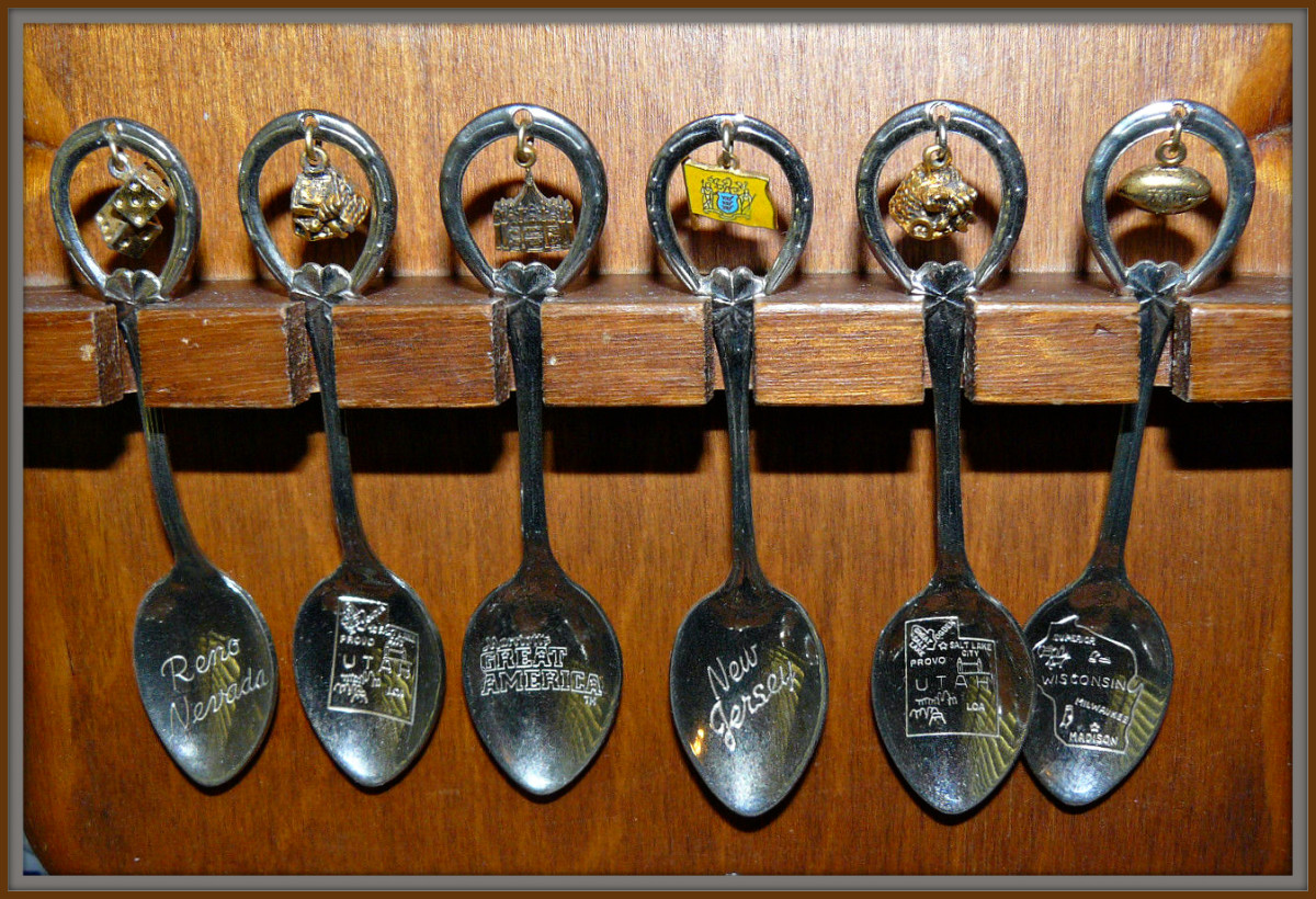Vintage Charm Spoons are now becoming valuable and very collectable. Many are even one of a kind, because over the years so many have been lost over the years.