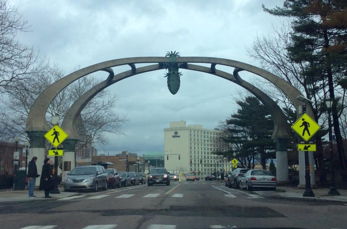 La Pigna - The Pine Cone - Gateway to Federal Hill.
