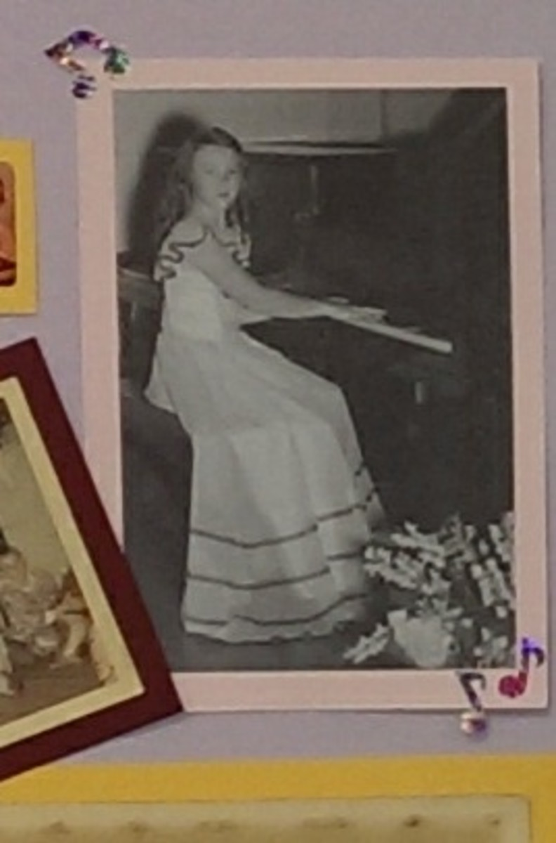 Mom classified herself as a concert pianist at one time.  Her music minister didn't know this until after her death.  Then all of those comments about music became abundantly clear to him.