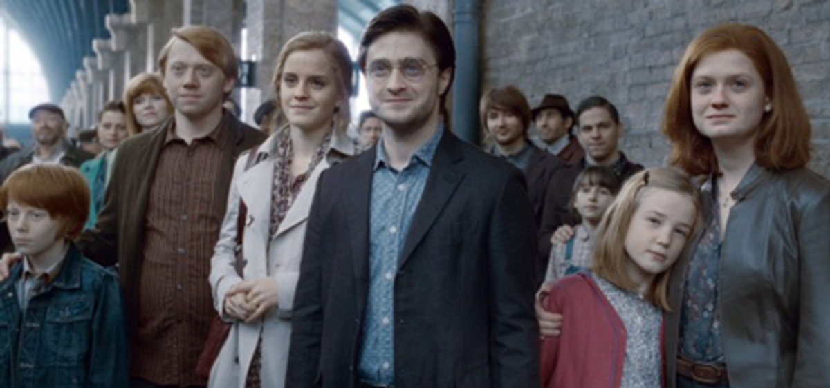 Why Harry Should be with Ginny, and not Hermione
