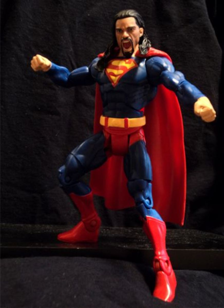 The master of the Superman punch becomes the man of steel.