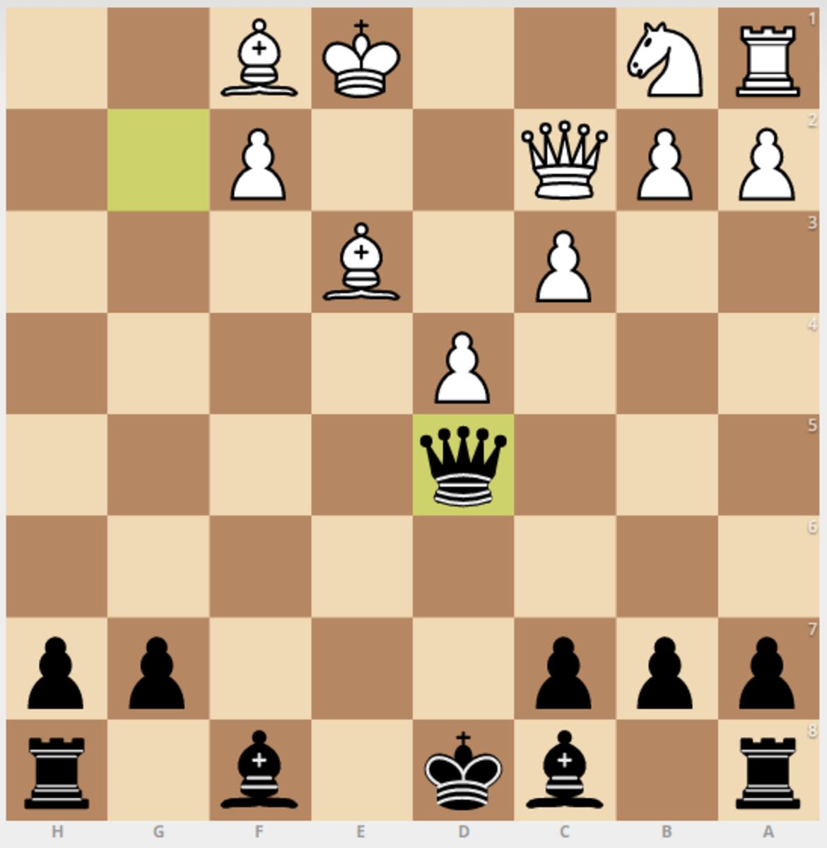Bxf7 line ending after 6. Ng4