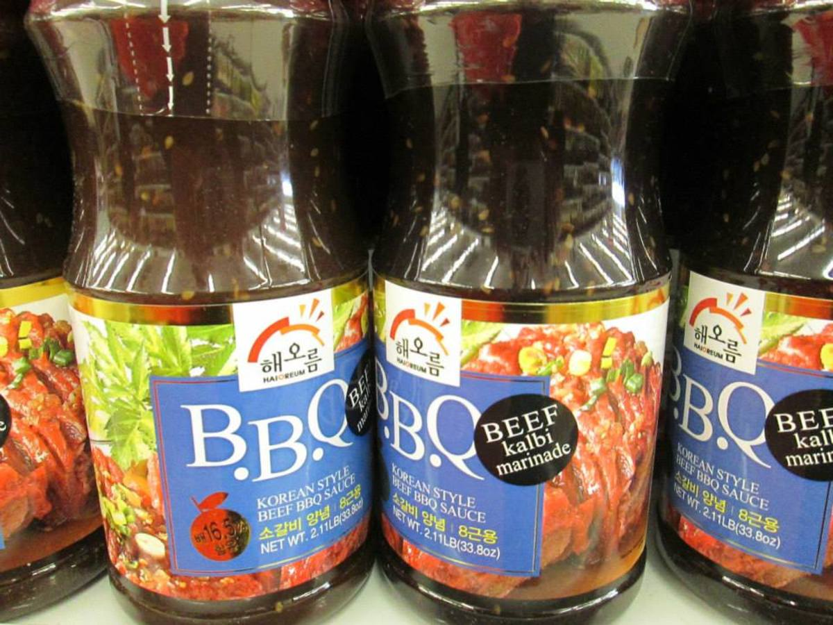 Korean BBQ Sauce at H Mart, 2963 E Big Beaver Rd, Troy, MI