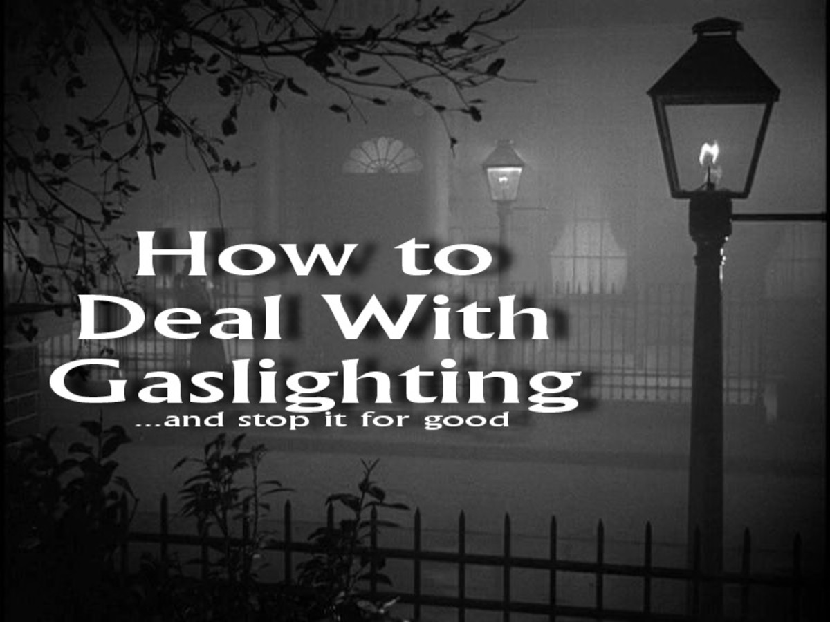 Narcissists, Borderlines & Psychopaths: How to Stop Gaslighting