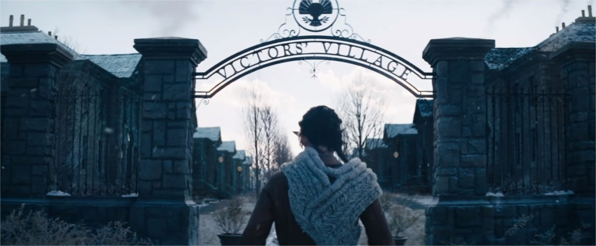 The Hunger Games: Catching Fire. Victor's Village. Katniss