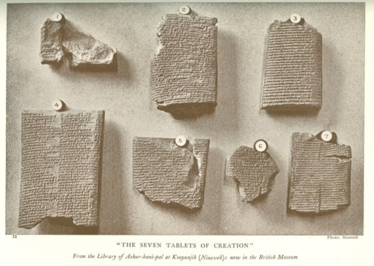 The Seven Sumerian Tablets of Creation, also called the Myth of Babylon.