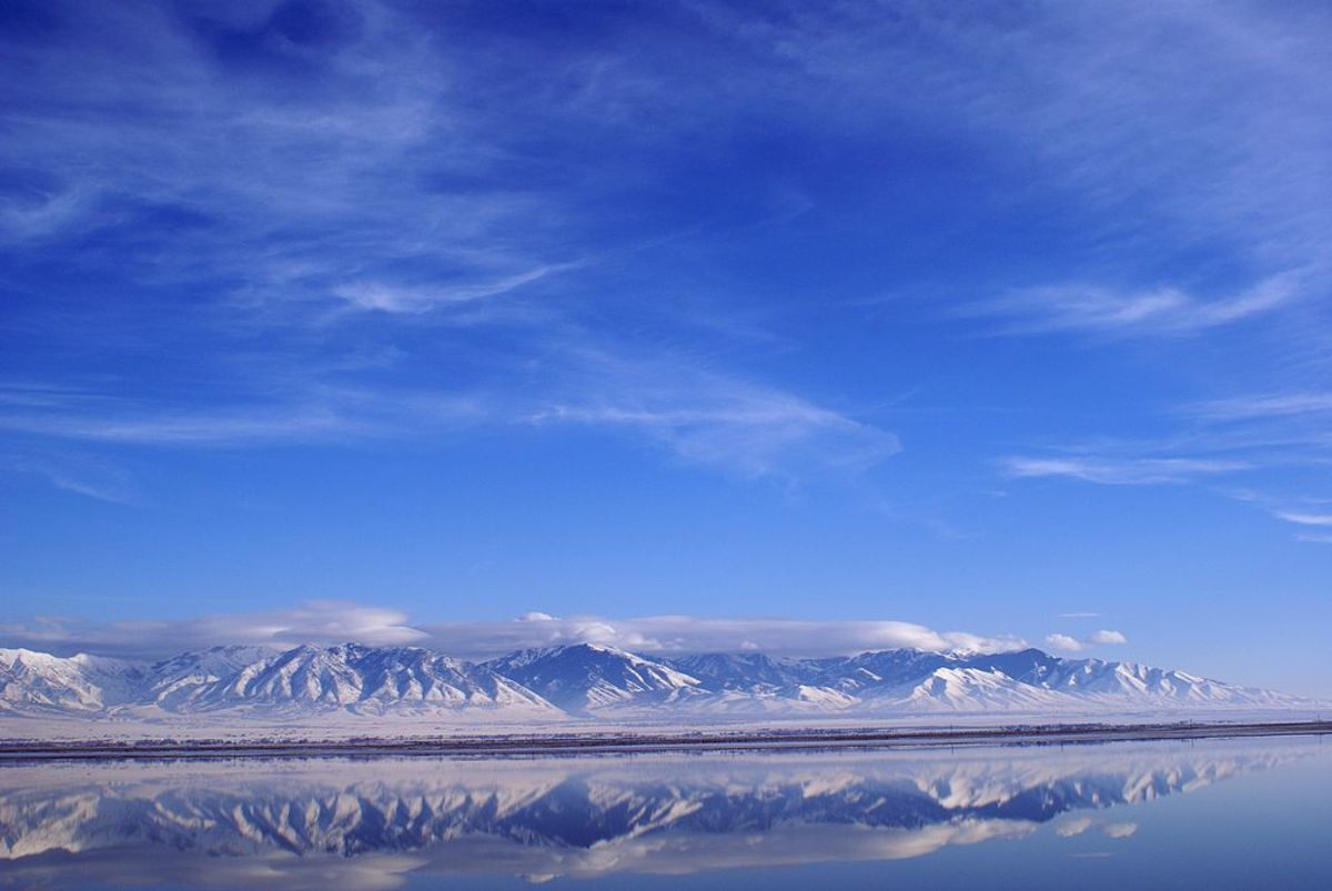 Mountains of the Great Salt Lake
