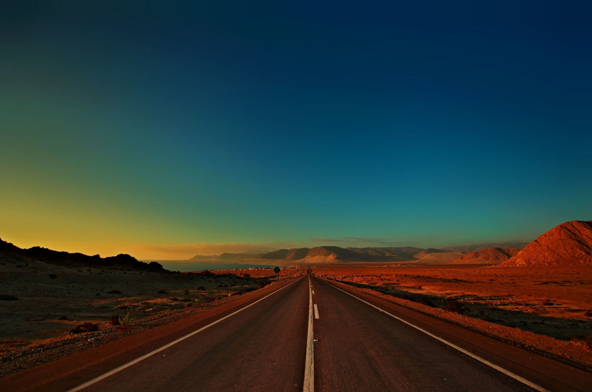 Pan American Highway -Chile