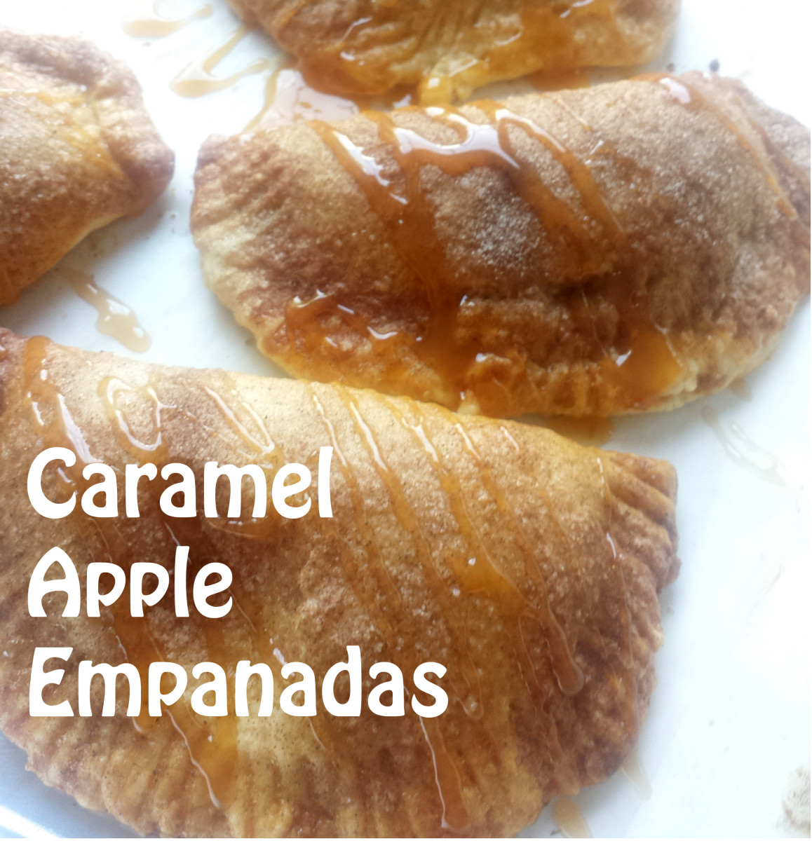Caramel Apple Empanadas just like at Taco Bell