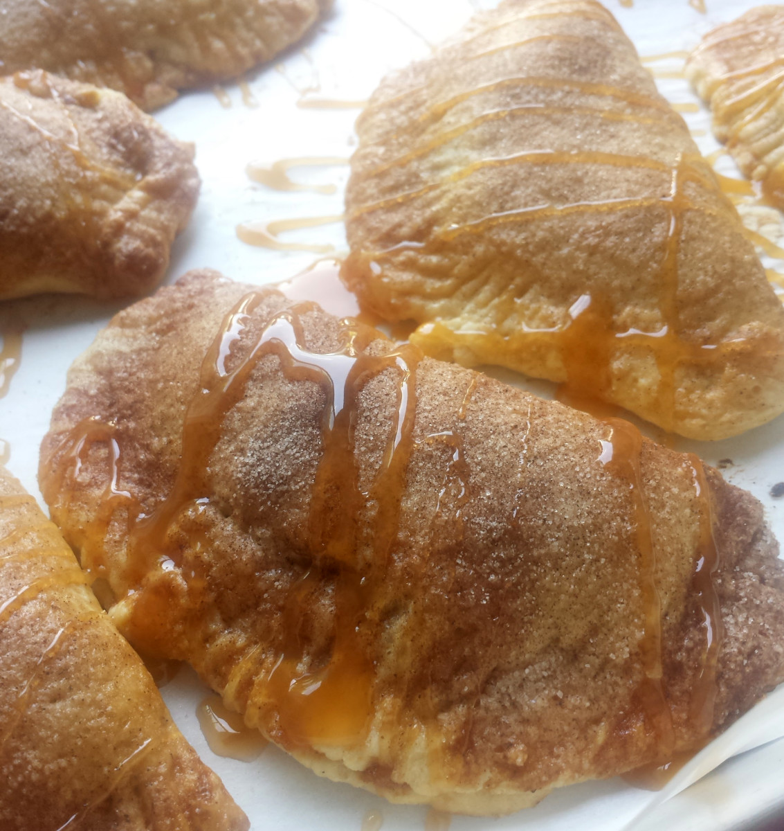 Yum! Caramel apple empanadas that are healthier than Taco Bell's!