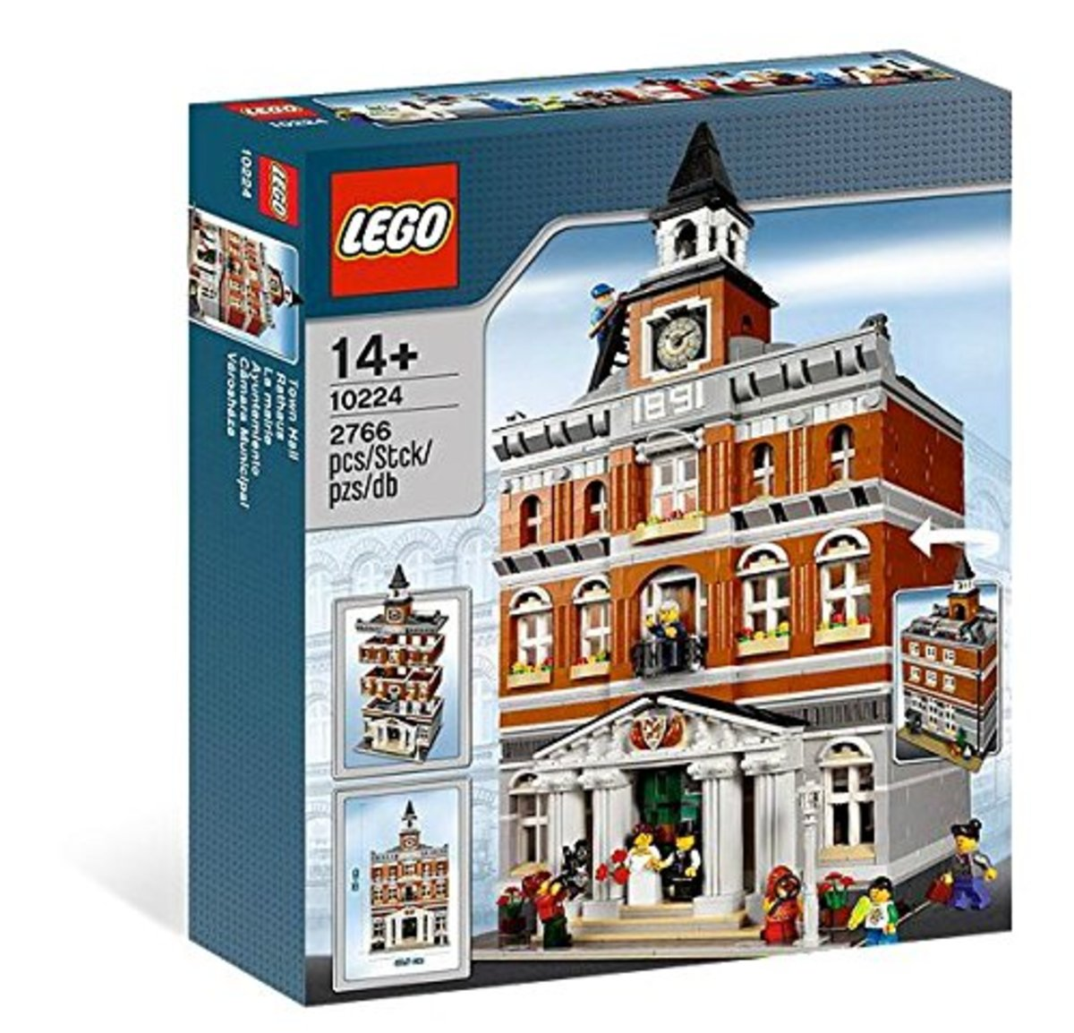 LEGO Modular Buildings: Town Hall