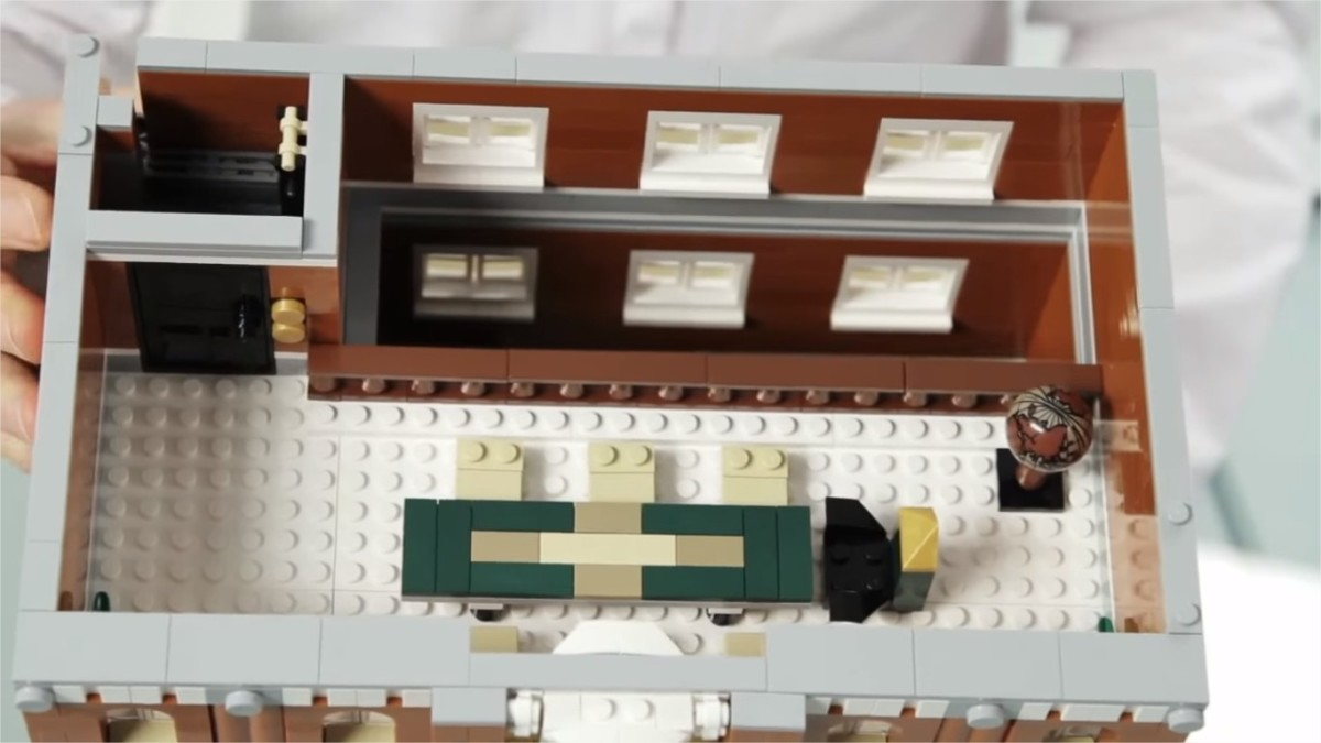 LEGO Creator Town Hall Modular Building | The third floor