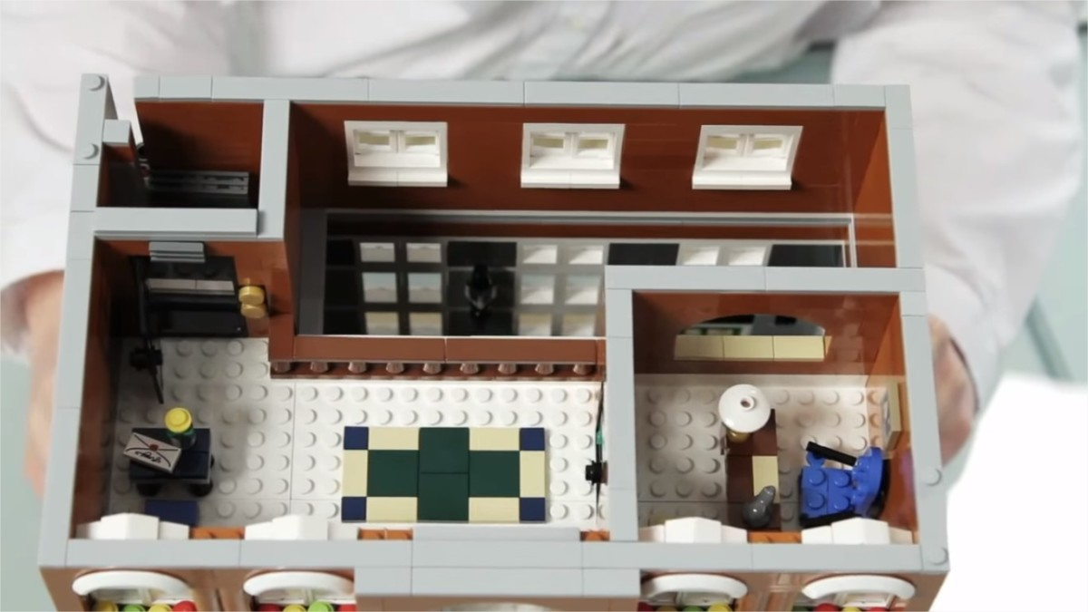 LEGO Creator Town Hall Modular Building | The second floor