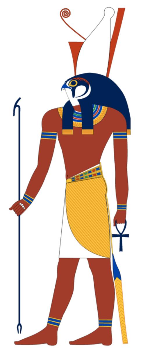 Horus standing