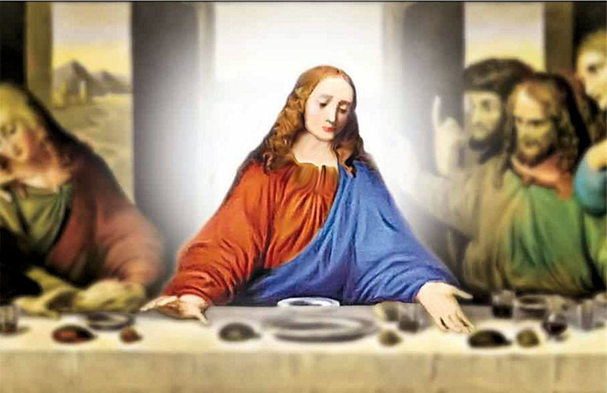 Was Jesus really a woman?