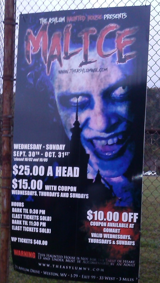 Trans Allegheny Lunatic Asylum Tour Cost