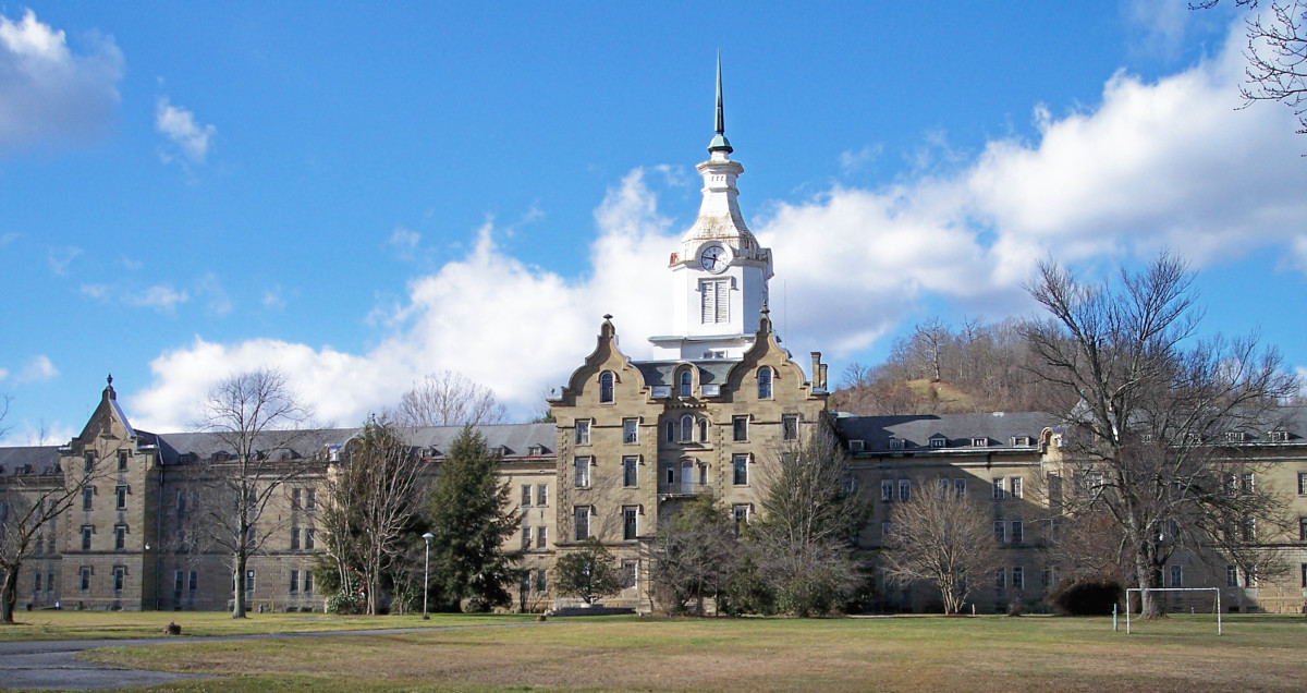 The Trans Allegheny Lunatic Asylum's construction started in 1858 and was not completed until 1881.  The mental institution was forcibly shut down in 1994, when patient treatment regulations were implemented.