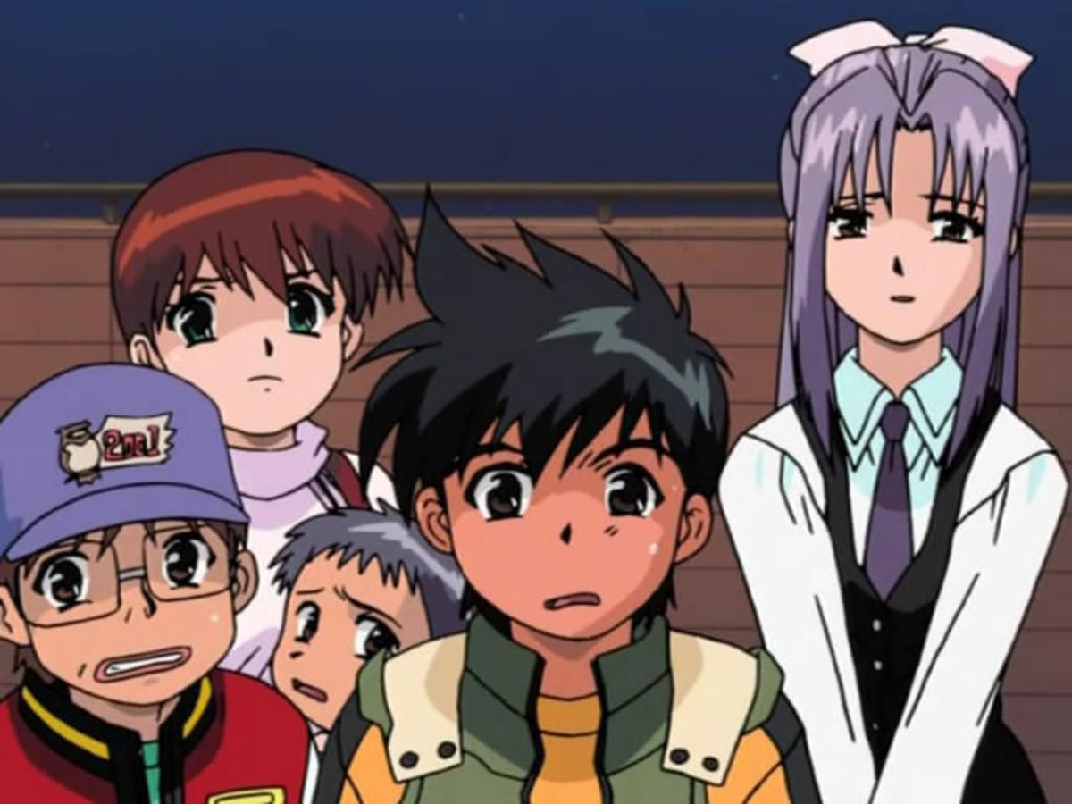 Leo, Keiichiro, Satsuki, Hajime and Momoka. Ghost Stories
