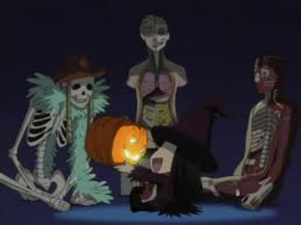 Sunako celebrating Halloween, The Wallflower