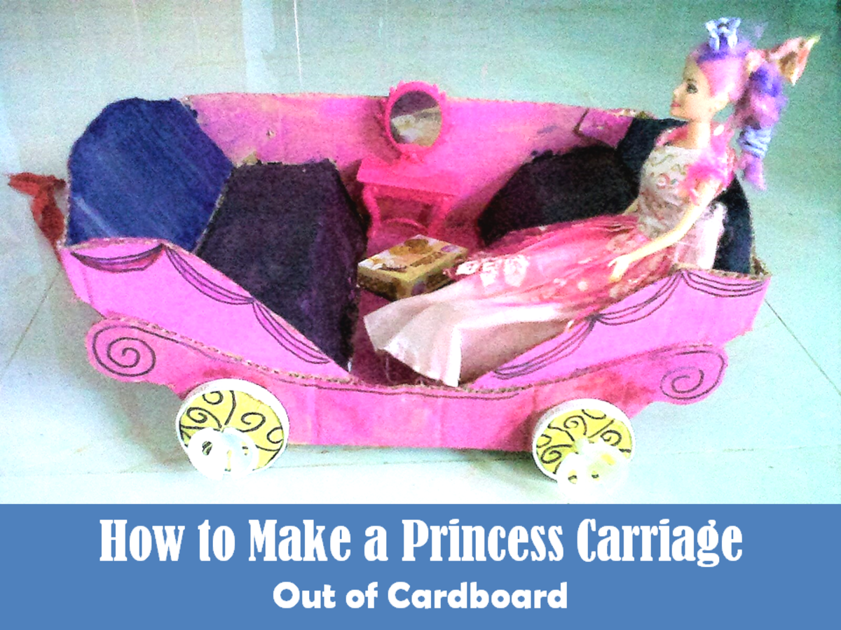 How to Make a Princess Carriage Out of Cardboard