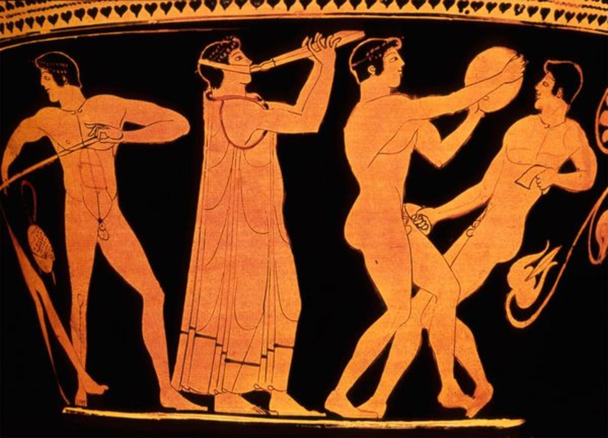The Olympic Games began over 2,700 years ago in Olympia, in southwest Greece. The Games were part of a religious festival. The Greek Olympics, thought to have begun in 776 BC, inspired the modern Olympic Games (begun in 1896.)