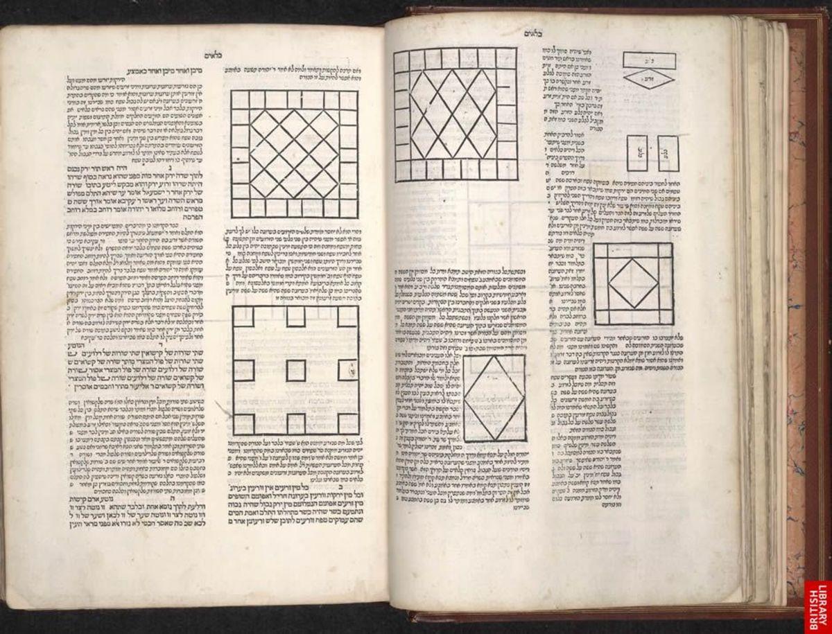 Mishnah, Naples, Italy, 1492. Kilayim  BL MS C.50.e.6 ff. 22v-23 Copyright © The British Library Board