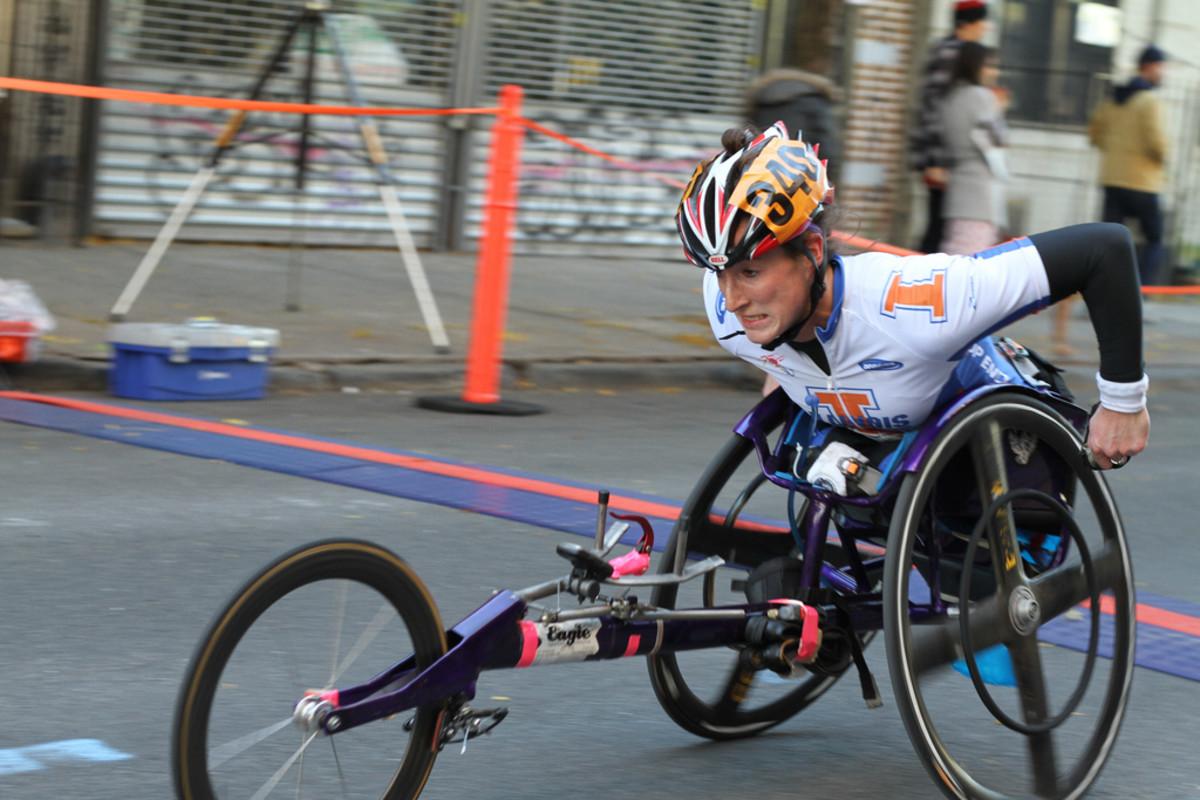 New York City Marathon participant