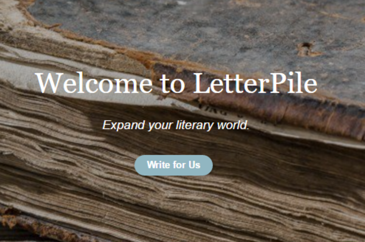 All things literary  plotlines and poetry.