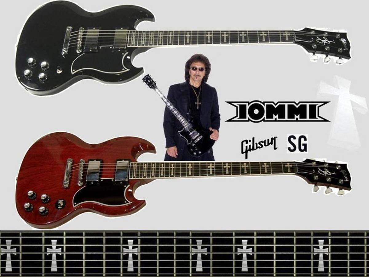 Gibson Tony Iommi SG guitars