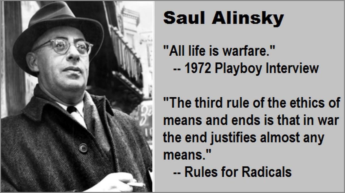 Ruses for Radicals: Saul Alinsky's Alt-Left Hate Speech