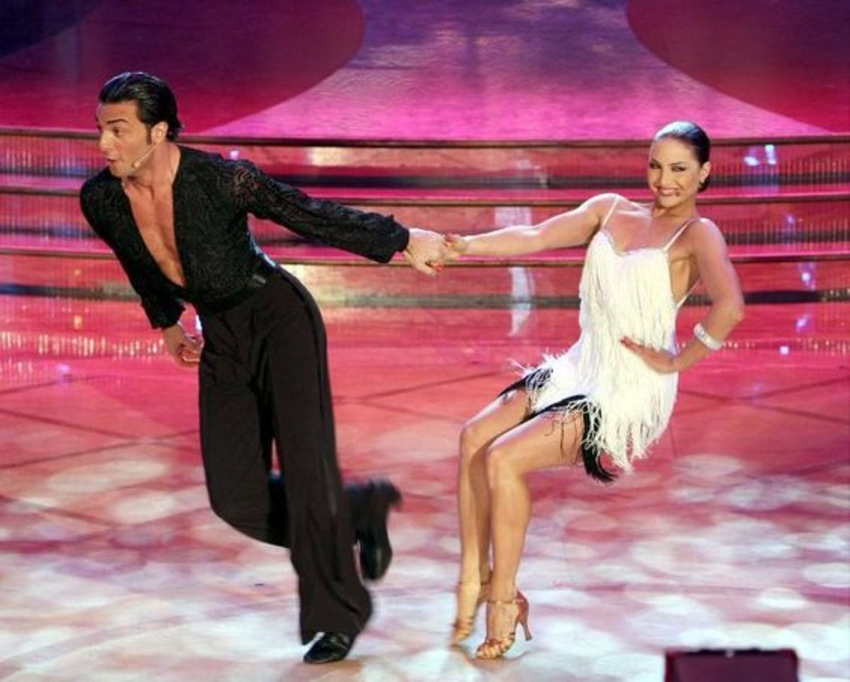 Stefano di Filippo and Anna Melnikova (Ballando con le stelle, Italian Dancing with the stars)