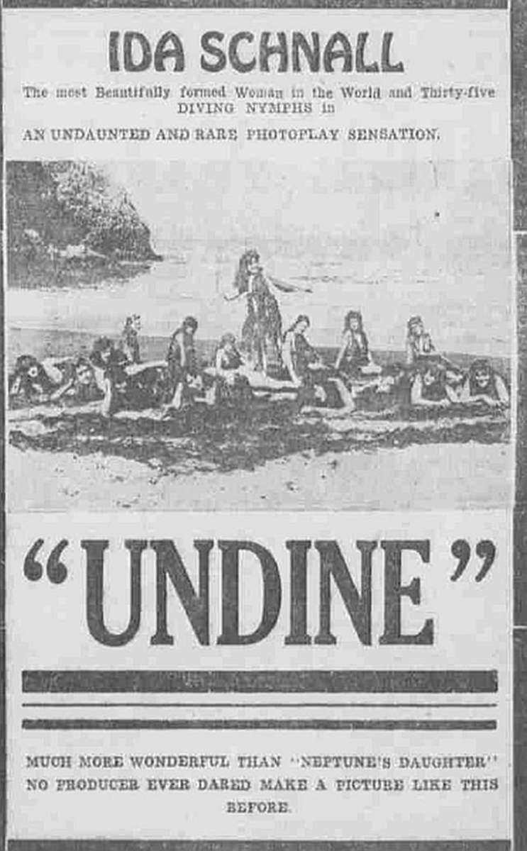 Newspaper ad from 1916