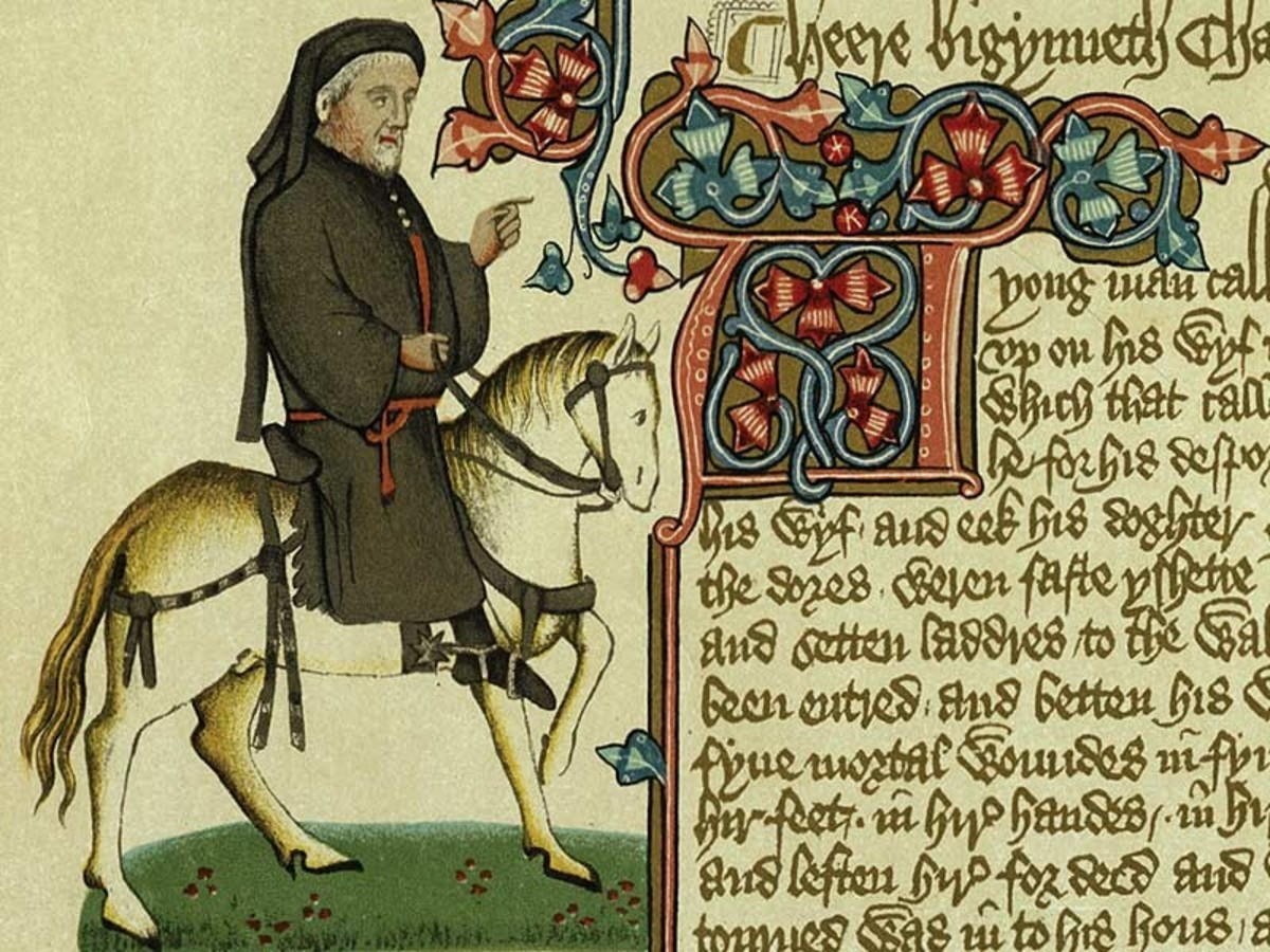 Geoffrey Chaucer, author of 'Canterbbury Tales', chronicled the bringing together of several characters on their pilgrimage quest for salvation at Canterbury Cathedral