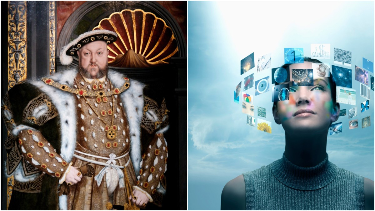From Henry VIII to Modern woman with technology