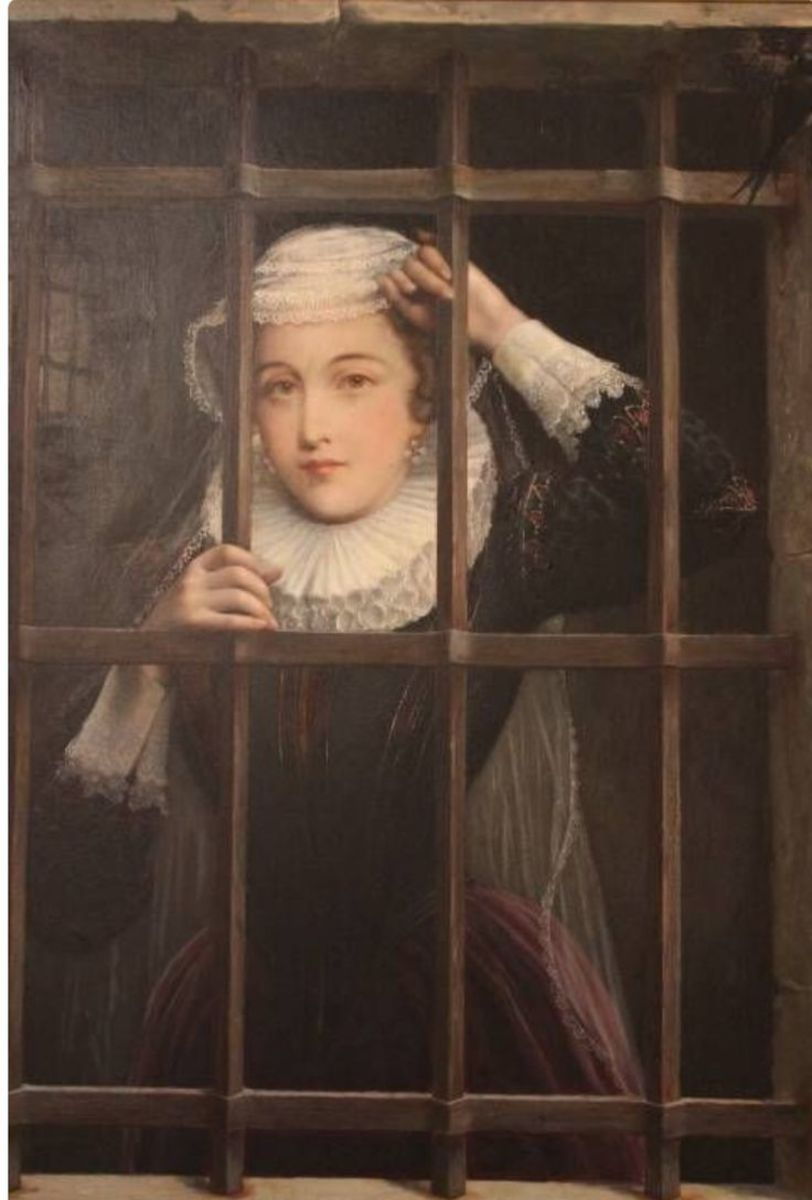 Mary Queen of Scots in prison