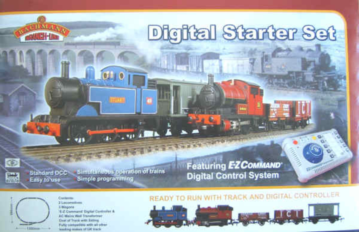 Start 'em young - Bachmann DCC Starter Kit''s a useful introduction system, although at a young age we should leave them some magic