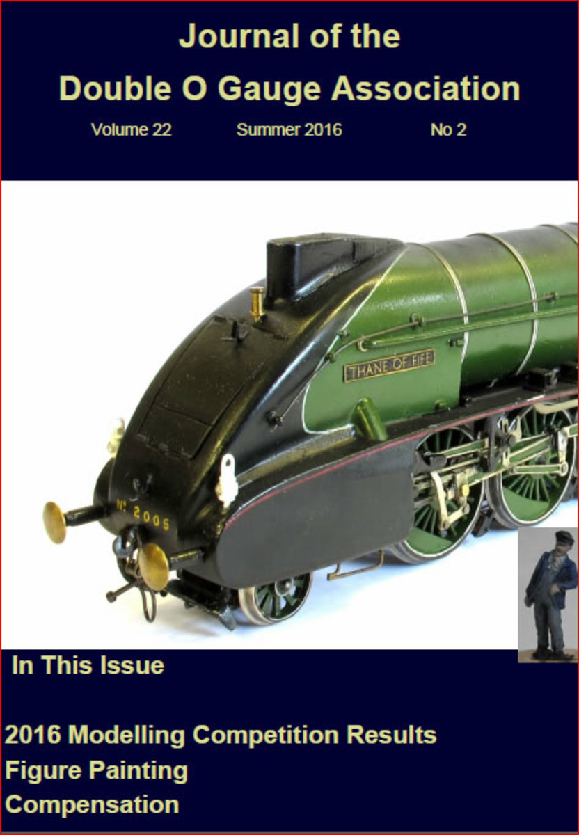 The Double O Gauge Association (DOGA) 'JOURNAL', a meeting place of minds, helpful hints and friendly competition