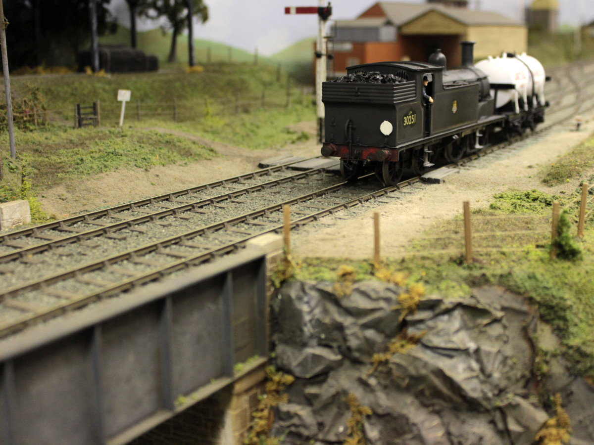 Crawley Model Railway Society's Torrington layout, based on BR Southern Region's presence in the North Devon town