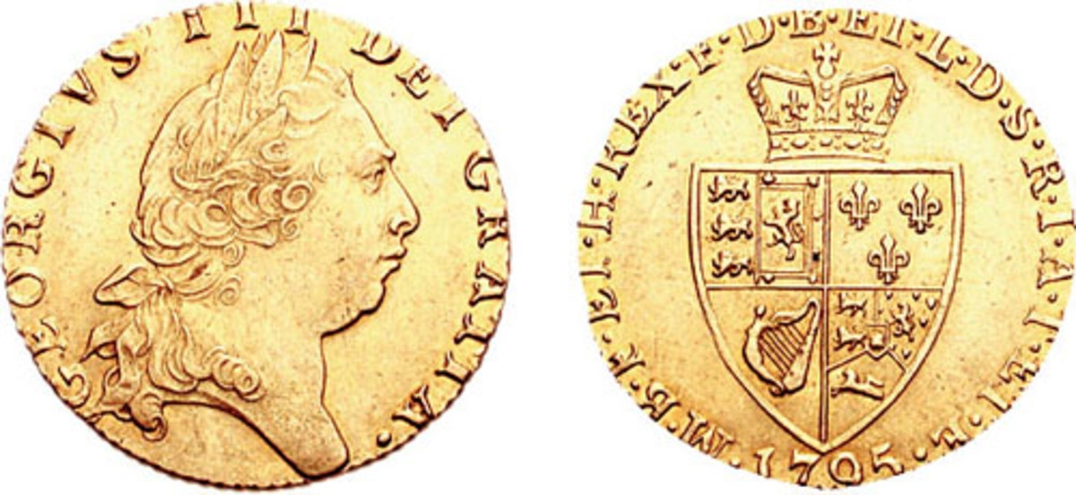 English Guineas, the gold coin of choice of smugglers