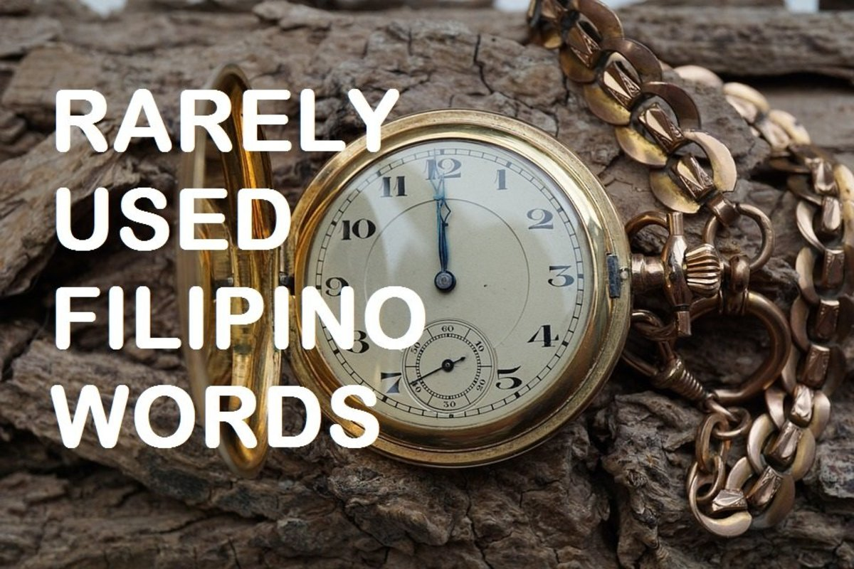 Learn some so-called old Tagalog words/malalim na salitang Tagalog and what they mean.