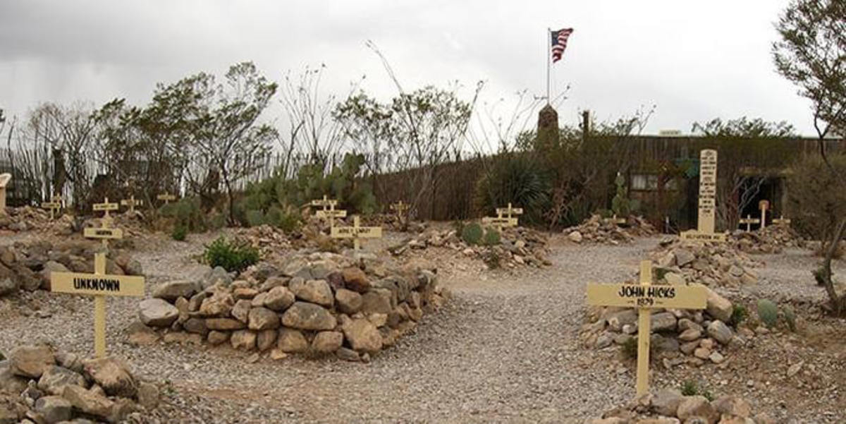 Boothill Graveyard, Tombstone, AZ., has always been a tourist favorite.