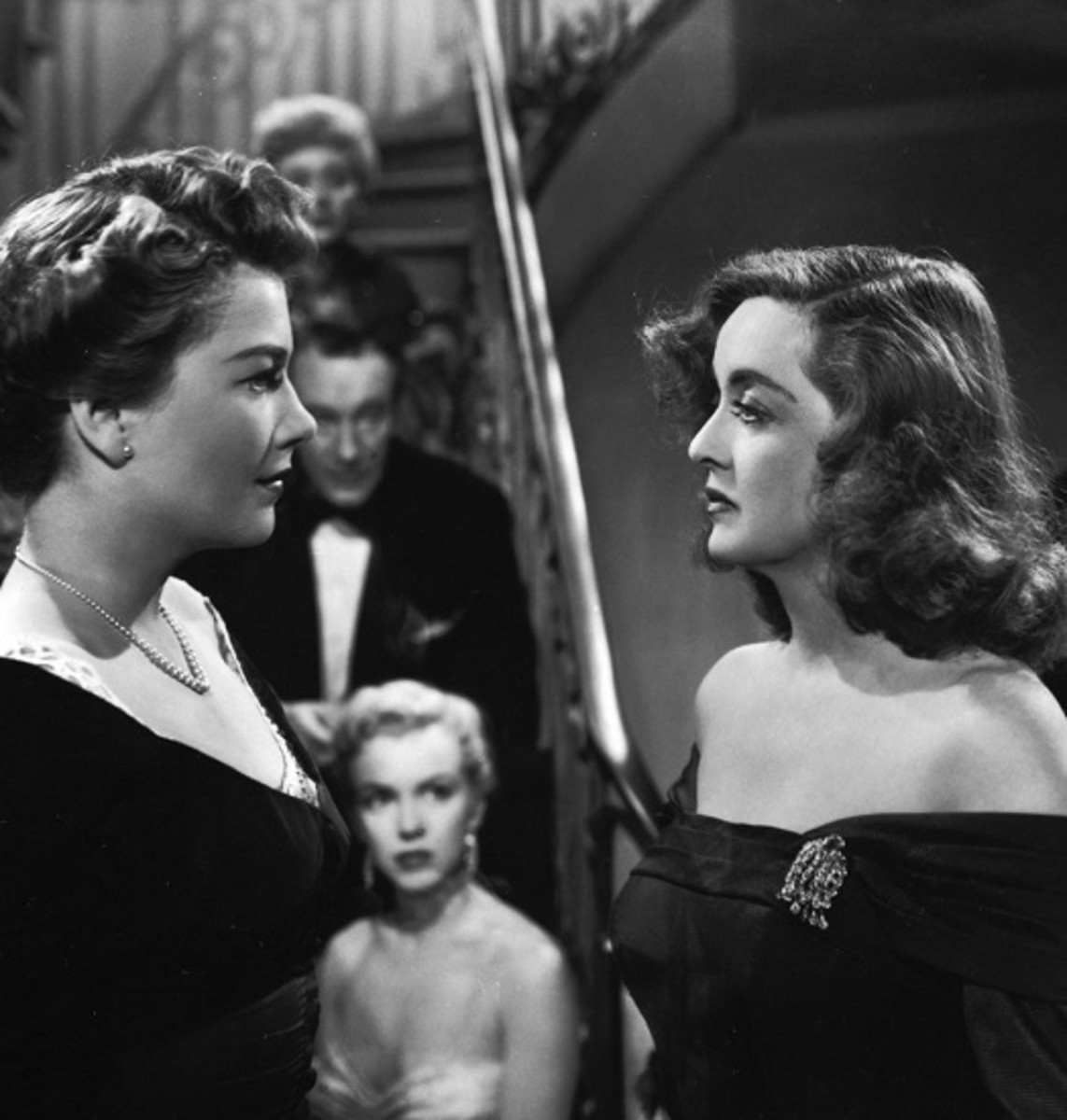 Bette Davis and Anne Baxter in All About Eve (1950)
