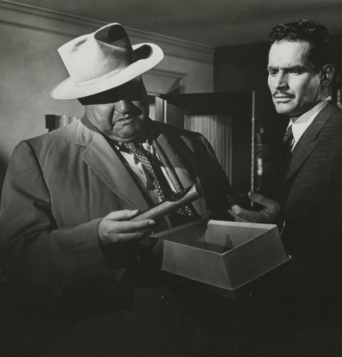 Charlton Heston and Orson Welles in Touch of Evil (1958)