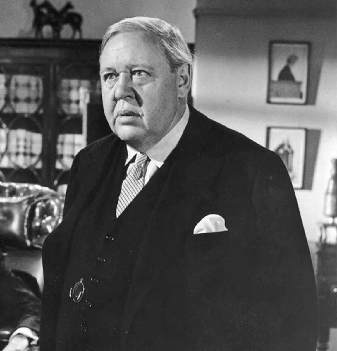 Charles Laughton in Witness for the Prosecution (1957)