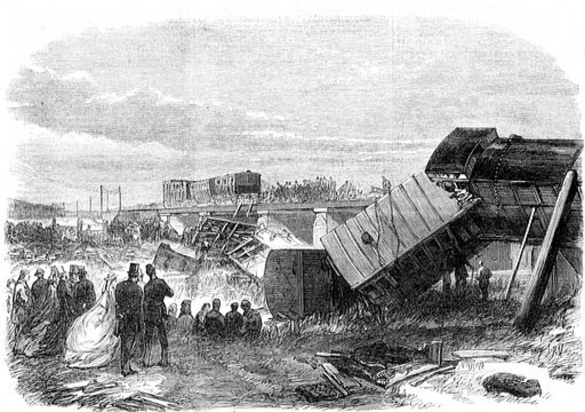 The Staplehurst Rail Crash of 1865