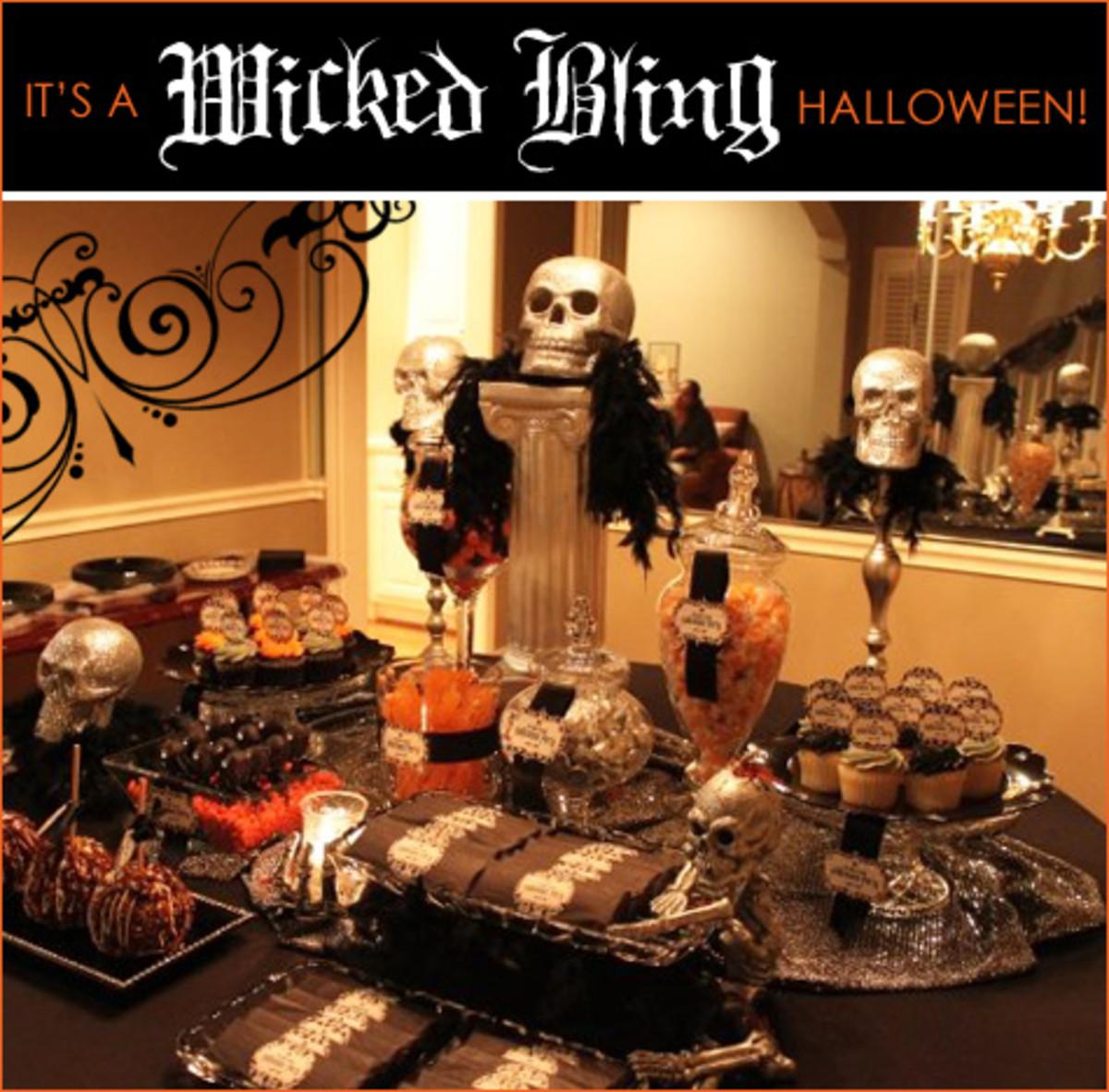 Halloween Decor for a fun time.