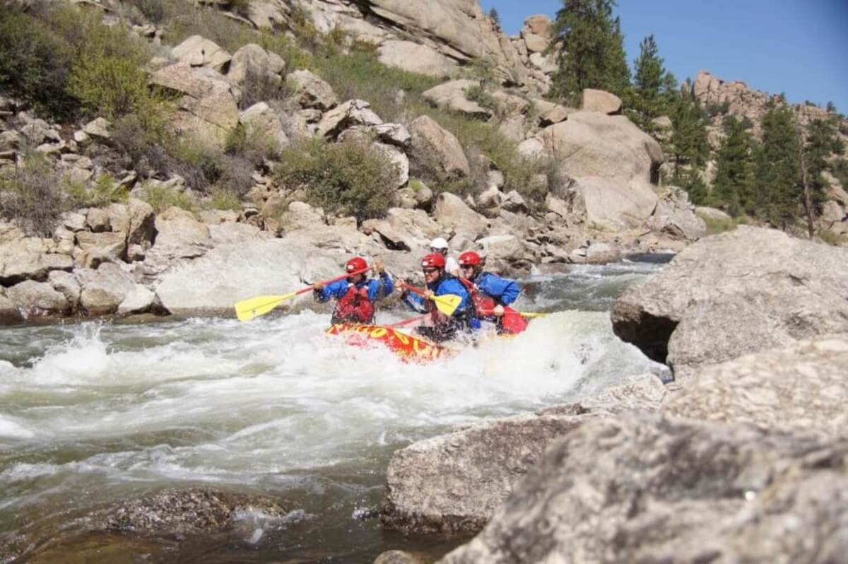 White water rafting in Colorado!