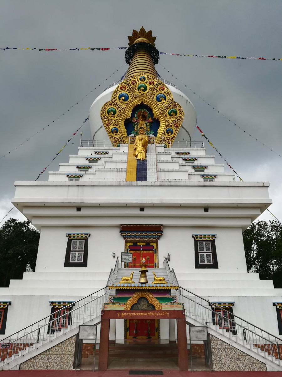 Tibetan Buddhism - Stupas Depicting Major Events in the life of the Buddha