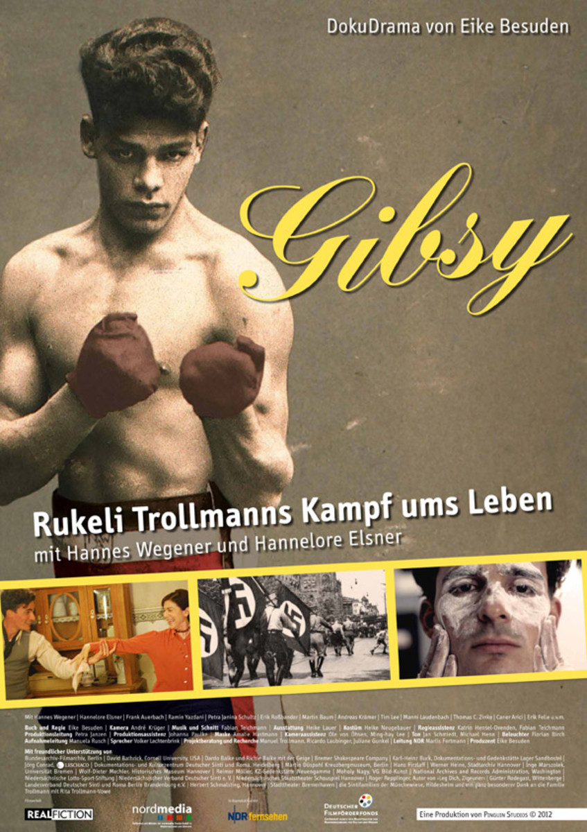 "A German docu-drama of Johann Trollmann's life, entitled ""Gibsy."""